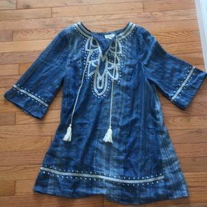 Umgee Denim Dress